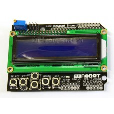 Arduino LCD1602 Keypad Shield