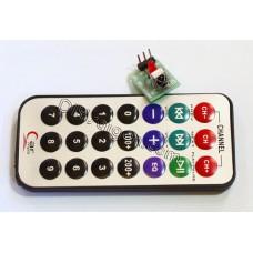 HX1838 NEC Code Infrared Remote