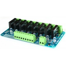 RELAY MODULE SSR 5V (8-CHANNEL - SOLID STATE RELAY)