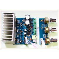 TDA2030A 2.1 THREE-CHANNEL (HIGH-POWER SUBWOOFER) AUDIO AMPLIFIER BOARD