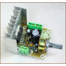 TDA7297 TWO-CHANNEL STEREO AMPLIFIER BOARD (15W X 2)