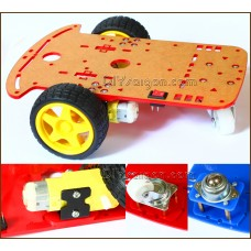 Smart car chassis 2WD