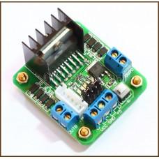 L298N Motor Driver Board for Stepper / DC Motor (Green Board)