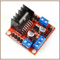 L298N Motor Driver Board for Stepper / DC Motor (Red Board)