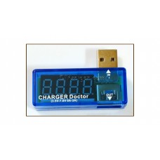 USB CHARGING CURRENT / VOLTAGE DETECTOR (CHARGER DOCTOR)