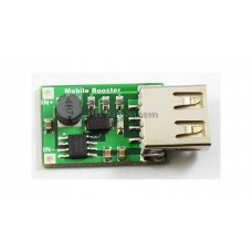 DC-DC BOOTS MODULE (2V~5V) TO 5V (UP TO 1.2A), OUTPUT USB (PORTABLE CHARGER)