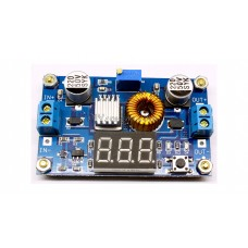 XL4015 5A DC-DC BUCK CONVERTER / STEP-DOWN POWER SUPPLY MODULE / WITH VOLTAGE LED DISPLAY