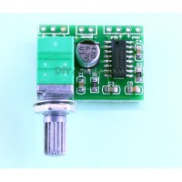 MINI DIGITAL AMPLIFIER BOARD 3W WITH VOLUME (PAM8403 CHIP)