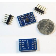 ADXL345 module triaxial accelerometer