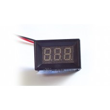 "3-DIGIT RED LED 0.36"" DIGITAL VOLTMETER, TWO WIRE BOX"