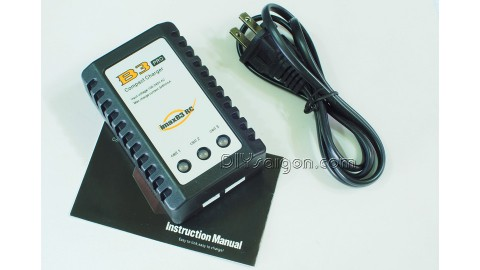B3 PRO - LITHIUM BATTERY BALANCED CHARGER  (7.4V/11.1V - 2S/3S)