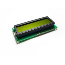 LCD 16x2 (LCD1602) Characters - Green Yellow back light